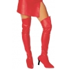 Red Thigh Highs Boot Tops